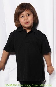 Children's Short Sleeve Polo