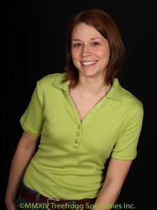 Women's Short Sleeve Green Polo